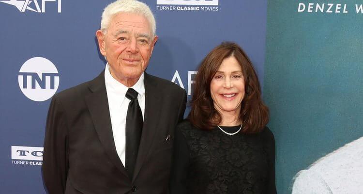 執導 1978 年《超人》電影的好萊塢動作導演李察唐納,與監製過《X 戰警》多部電影的夫人蘿倫舒勒唐納合影。