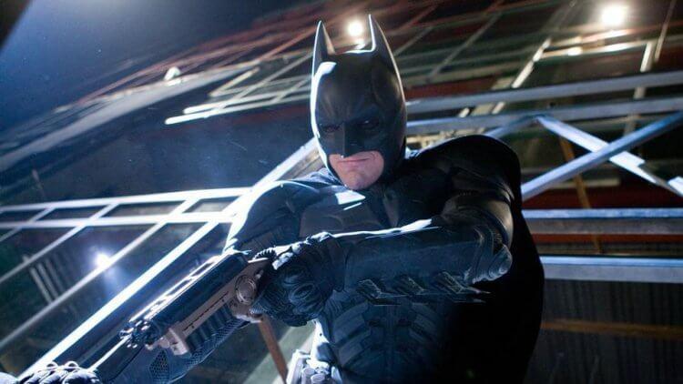 由克里斯汀貝爾飾演的蝙蝠俠。