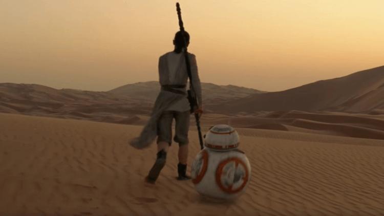《STAR WARS:天行者的崛起》呼應《星際大戰四部曲:曙光乍現》的片頭。