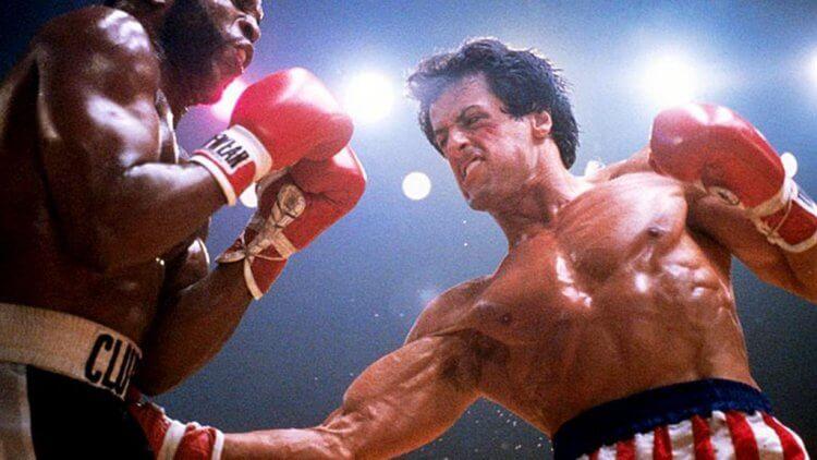 還不是「藍波」的席維斯史特龍,已是當時大銀幕上最知名的拳擊手:《洛基》。