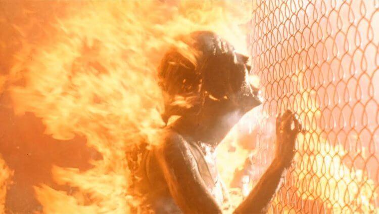 《魔鬼終結者 2》電影劇照。