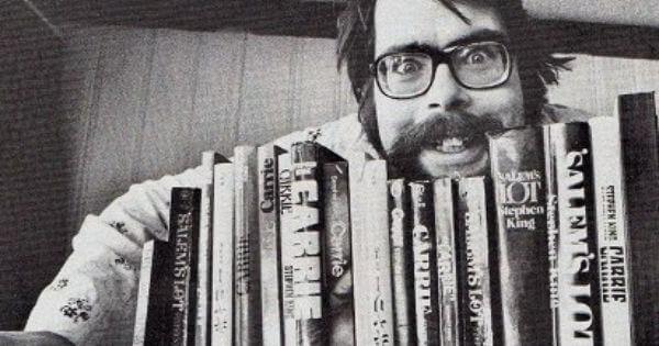 史蒂芬金在 70 年代投注許多心力在寫作上。