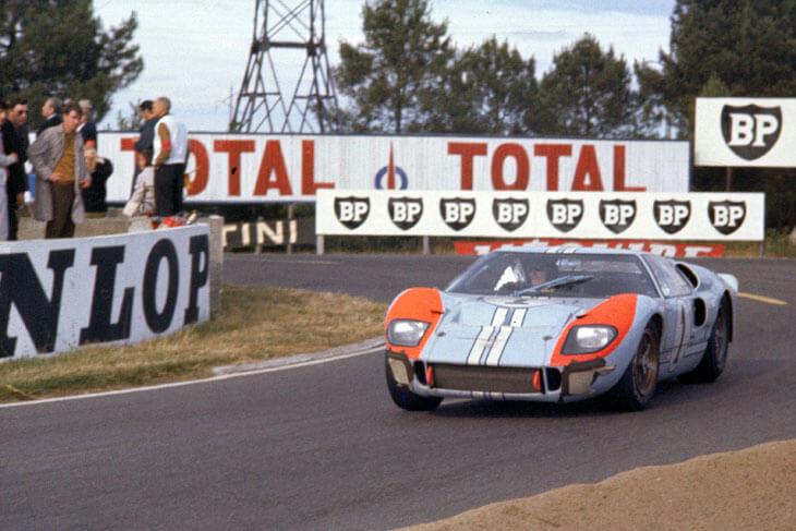 《賽道狂人》出現福斯一號車(福特 GT 40)