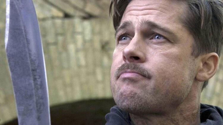 《惡棍特工》是昆汀導演與布萊德彼特第一次合作的電影。