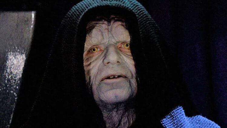 《星際大戰》 皇帝白卜庭 / 西斯大帝的邪惡令人恨得牙癢癢。