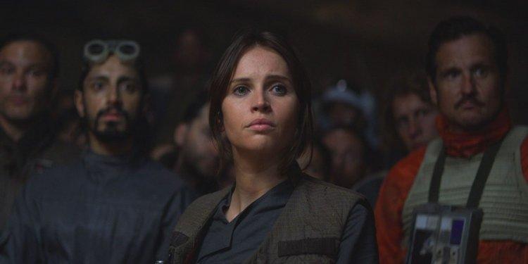 《星際大戰外傳:俠盜一號》費莉絲蒂瓊斯 (Felicity Jones) 飾演的琴。