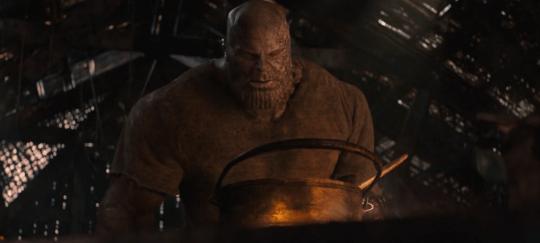 《復仇者聯盟4:終局之戰》(Avengers: Endgame) 的薩諾斯