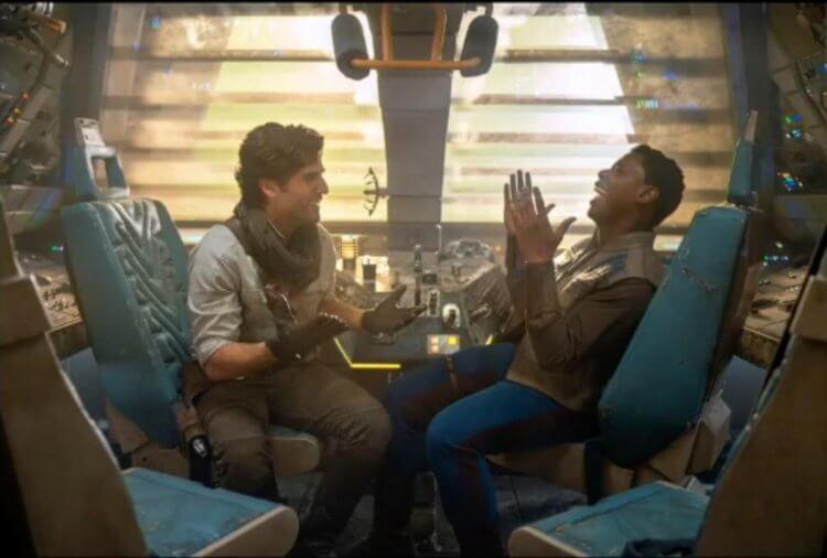 星際大戰系列電影中,芬恩與波之間的相處充滿了深刻情誼與愛。