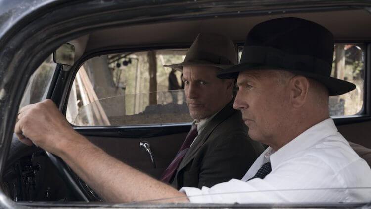 凱文科斯納 (Kevin Costner)、伍迪哈里遜 (Woody Harrelson) 主演的《緝狂公路》,取材自 1930 年代惡名昭彰的鴛鴦大盜邦尼與克萊德,以追緝他們的警察視角敘事。
