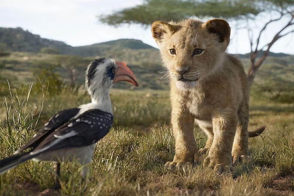 《獅子王》電影劇照。