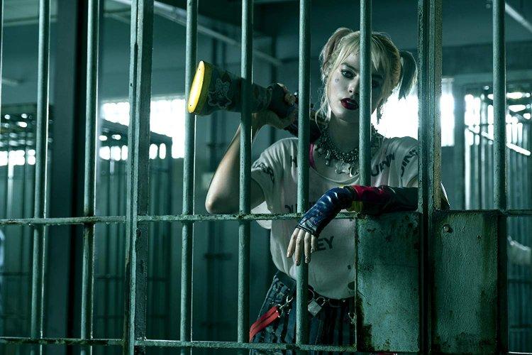 DC 電影《猛禽小隊:小丑女大解放》中,瑪格羅比飾演的哈利奎茵。