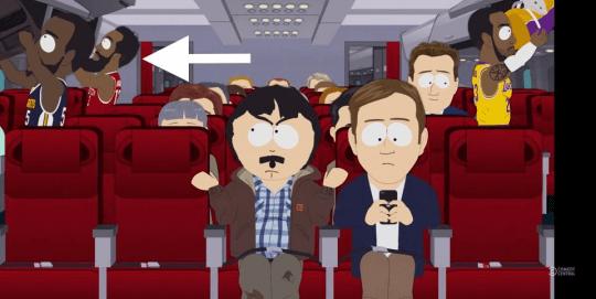 《南方公園》(South Park) 屎蛋老爸坐上一班前往中國的班機 NBA球星也在