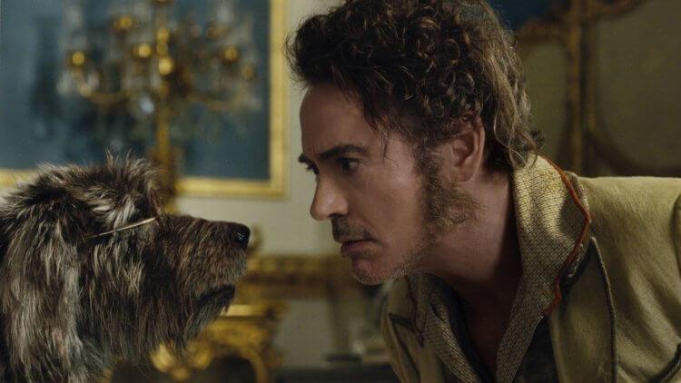小勞勃道尼在《杜立德》飾演的杜立德,能夠與動物對話。