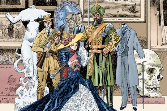 亞倫摩爾的《天降奇兵》很受歡迎。