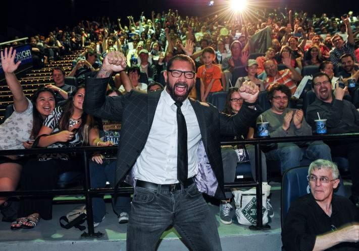 從職業摔角跨足影劇圈,巴帝斯塔在全球體育界與娛樂圈皆累積極高人氣。