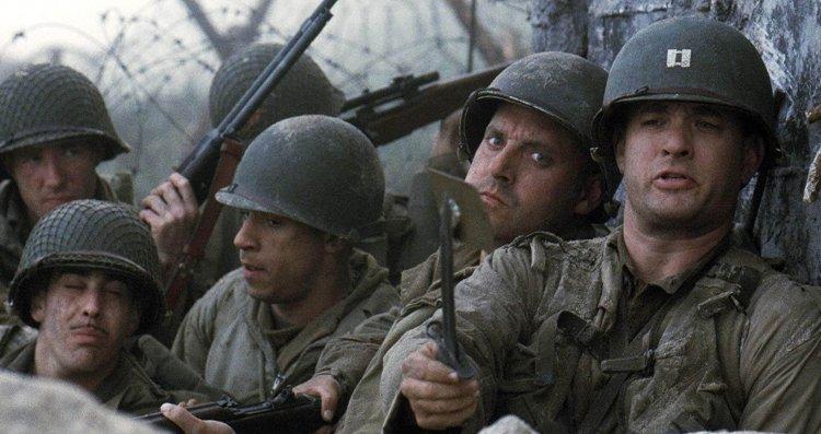 《搶救雷恩大兵》(Saving Private Ryan) 劇照。