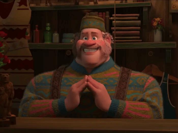 《冰雪奇緣 2》(Frozen 2) 中的店主由克里斯威廉斯配音