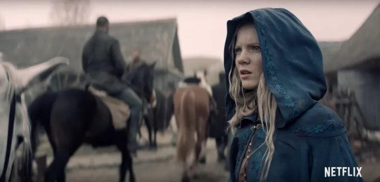 《獵魔士》影集:飾演奇莉的芙蕾雅艾倫
