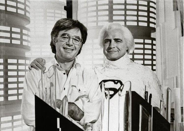 蘿倫蘇勒唐納的先生李察唐納,是首支漫改超級英雄電影《超人》的導演,圖為與「超人之父」馬龍白蘭度的合影。