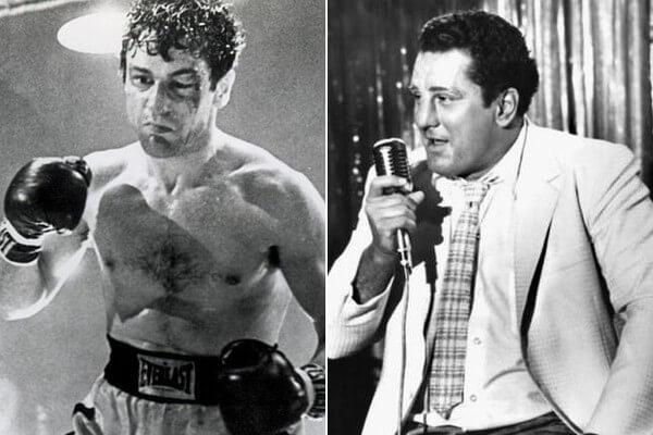 1980 年由馬丁史柯西斯執導的拳擊電影《蠻牛》讓勞勃狄尼洛登基成為奧斯卡影帝。