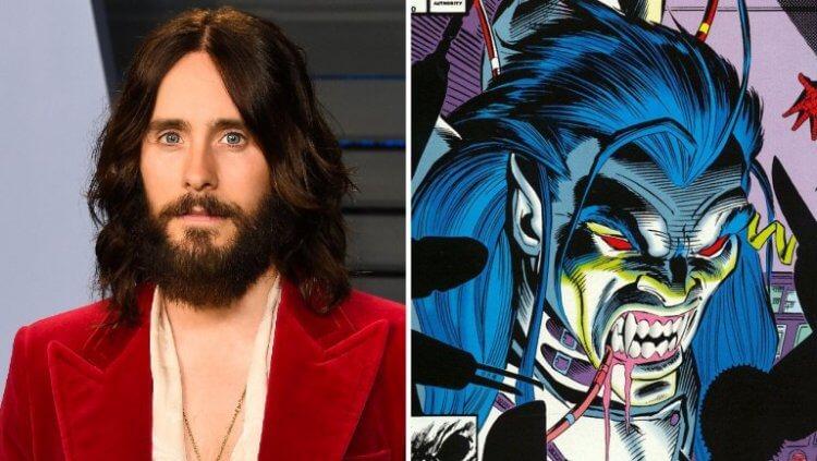 《自殺突擊隊》飾演小丑的傑瑞德雷托,將是全新角色吸血鬼莫比亞斯。