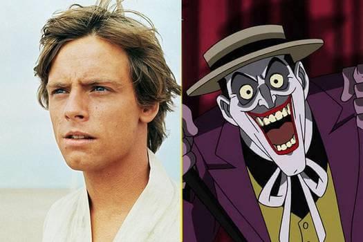 《星際大戰》路克天行者、動畫影集《蝙蝠俠》小丑──他們的真實「聲」份都曾來自馬克漢米爾。
