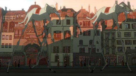 《布紐爾 超現實人生》動畫電影劇照。