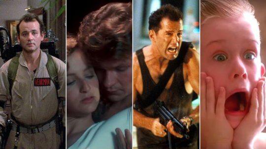 美國 80 年代經典電影。