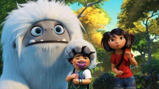 動畫電影《壞壞萌雪怪》劇照。