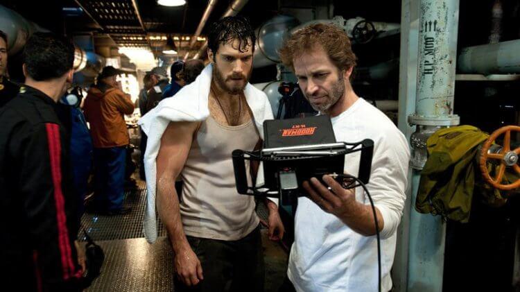 《超人:鋼鐵英雄》亨利卡維爾 (Henry Cavill) 與查克史奈德 (Zack Snyder)