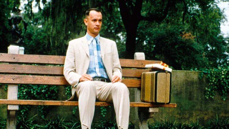 湯姆漢克斯主演的《阿甘正傳》在《刺激 1995》上映當年搶盡一切風采。
