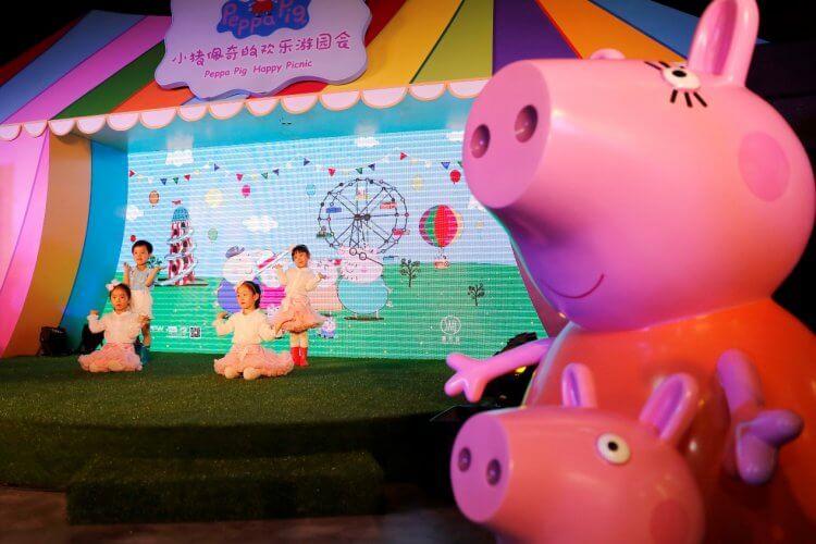 《粉紅豬小妹》大受歡迎