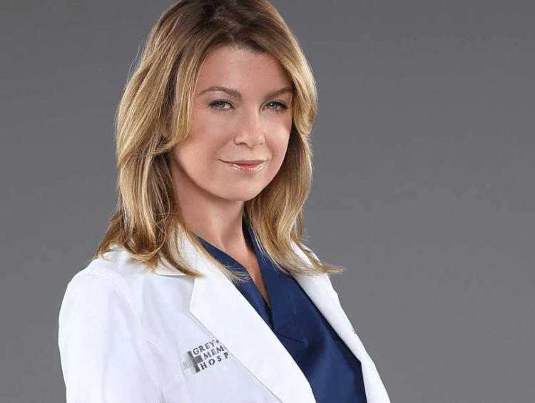 《實習醫生》(Grey's Anatomy)女主角 艾倫龐貝歐 (Ellen Pompeo)