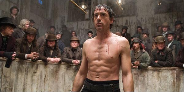 《福爾摩斯》(Sherlock Holmes) 小勞勃道尼 (Robert Downey Jr.) 。