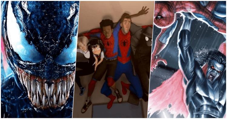 蜘蛛宇宙系列相關電影將陸續登場:《猛毒》、《蜘蛛人:新宇宙》以及吸血鬼《魔比斯》。