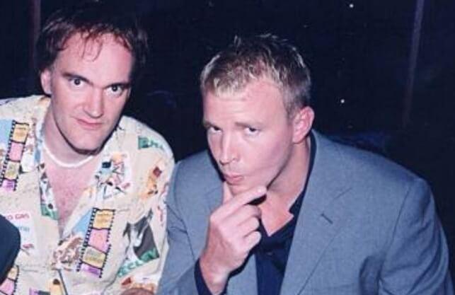 左:昆汀塔倫提諾 (Quentin Tarantino) ,右: 蓋瑞奇(Guy Ritchie)