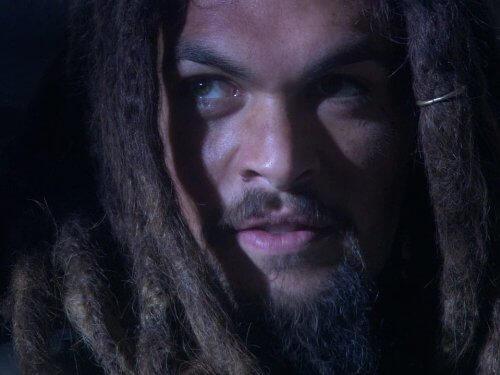 傑森摩莫亞演出影集《星際奇兵:亞特蘭提斯》。