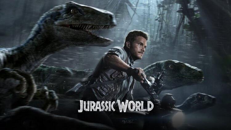 克里斯普瑞特與迅猛龍一起衝刺的畫面應是電影中的驚喜,卻成了宣傳主軸。