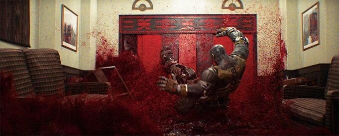 史蒂芬史匹柏《一級玩家》裡的《鬼店》場景。