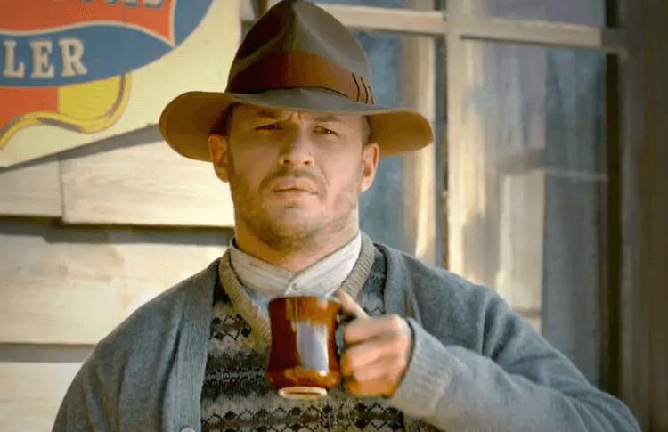 湯姆哈迪 (Tom Hardy) 在電影《野蠻正義》(Lawless) 中的身形明顯壯碩,真的會被西亞李畢福打的不要不要的嗎?