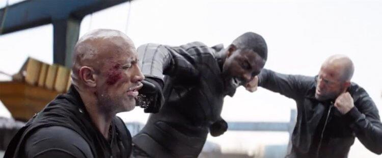 導演大衛雷奇在《玩命關頭:特別行動》(Fast and Furious: Hobbs and Shaw) 裡安排不少三人對打的場面。