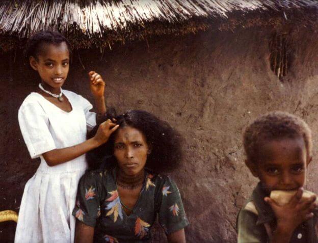 蘇丹難民營