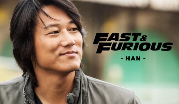 《玩命關頭 3:東京甩尾》電影中由姜成鎬飾演的韓哥。