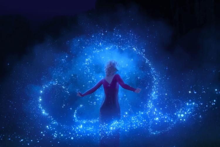 《冰雪奇緣 2》中,有許多美麗壯觀的鏡頭。
