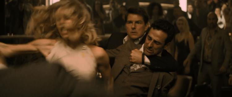 凡妮莎柯比在《不可能的任務 6:全面瓦解》中有不少動作場面,而為了演出完美,她也接受了相對的體能訓練。