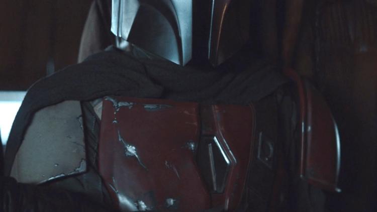 《曼達洛人》曼達的裝甲是以貝斯卡鋼打造。