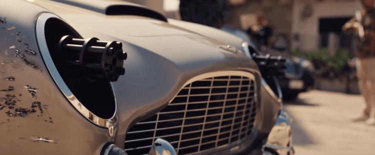 《007:生死交戰》最新電影預告中出現的詹姆士龐德愛駒 DB5 。