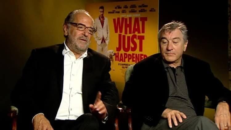 宣傳 2008 年電影《顛覆瘋雲》時的勞勃狄尼洛(右)......看看他的表情。