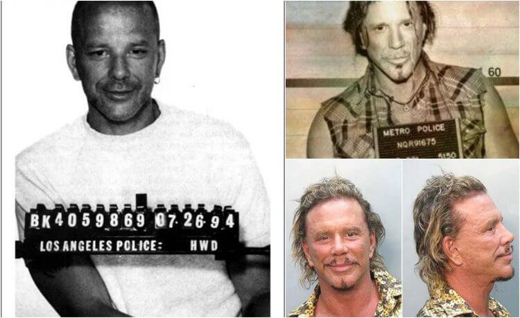 80 年代曾演出《愛你九週半》《天使心》等電影的米基洛克的成長環境複雜,因而常常進出警局──從小到大都是。