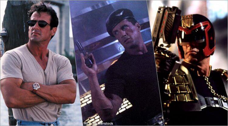 洛基與藍波這兩個大銀幕形象太過經典,席維斯史特龍日後演出的電影如《魔鬼專家》、《超級戰警》、《超時空戰警》都出不了肌肉硬漢這個框架。